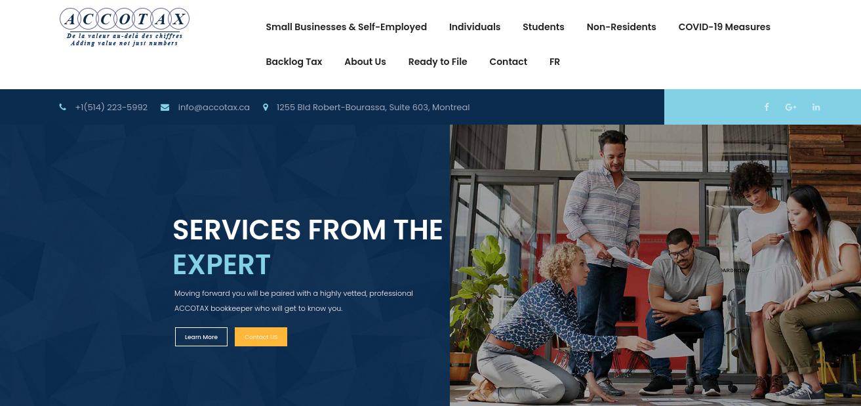Accotax Website