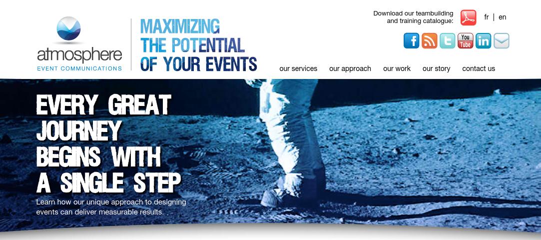 Atmosphere Website