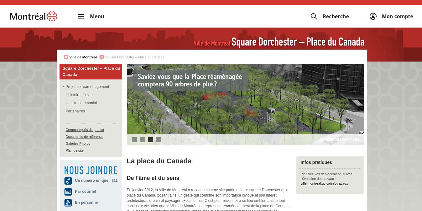 Dorschester Square Website