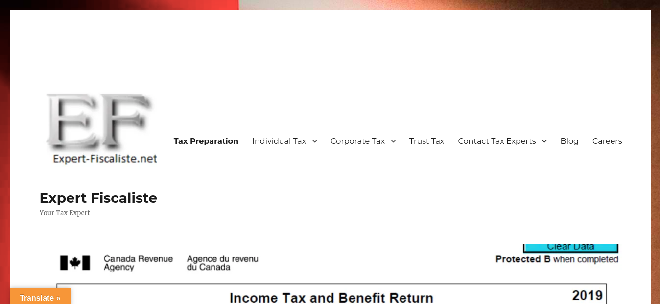 Expert Fiscaliste Website