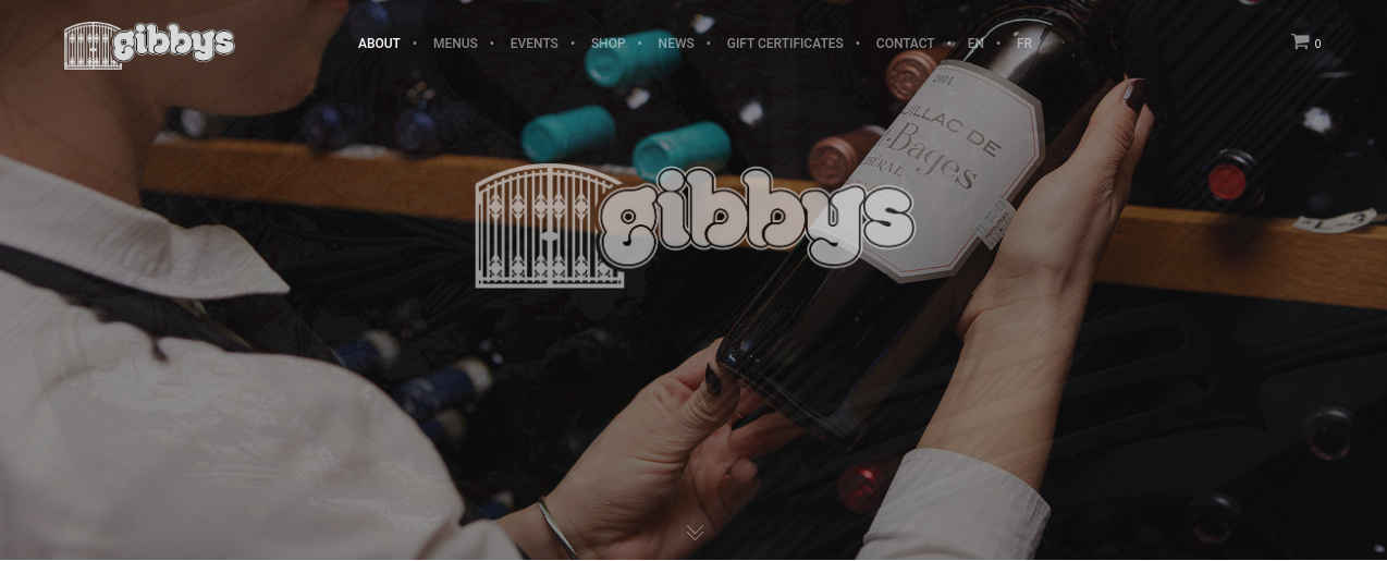 Gibbys Website