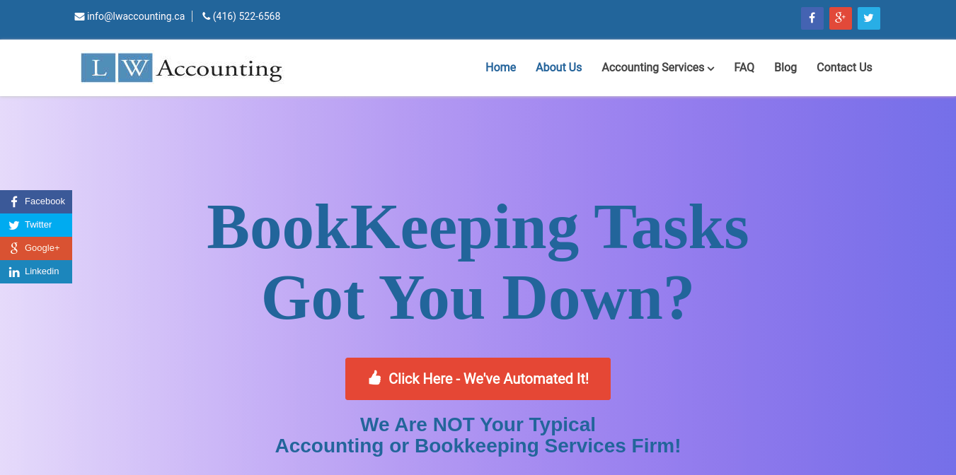 LW Accounting Website