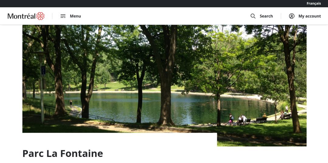 La Fontaine Park Website