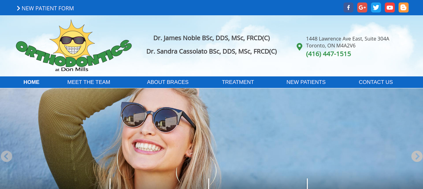 Orthodontics at Don Mills Website