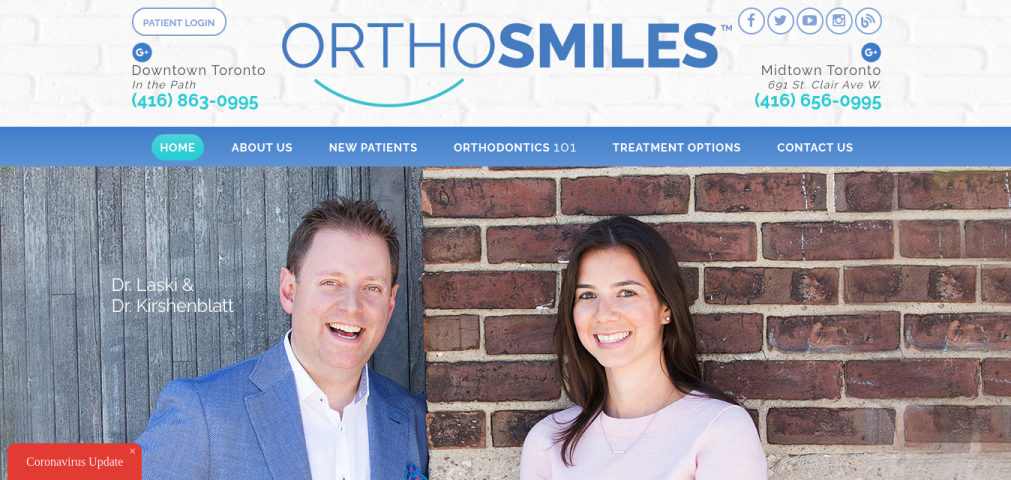 Orthosmiles Website