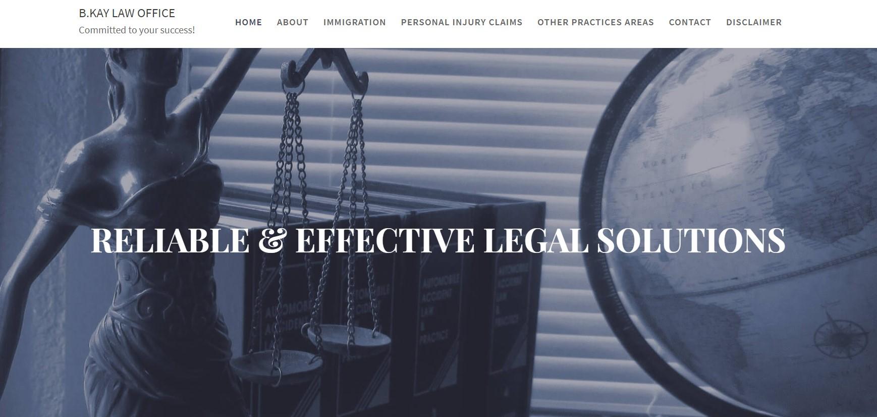 b.kay immigration attorney in edmonton