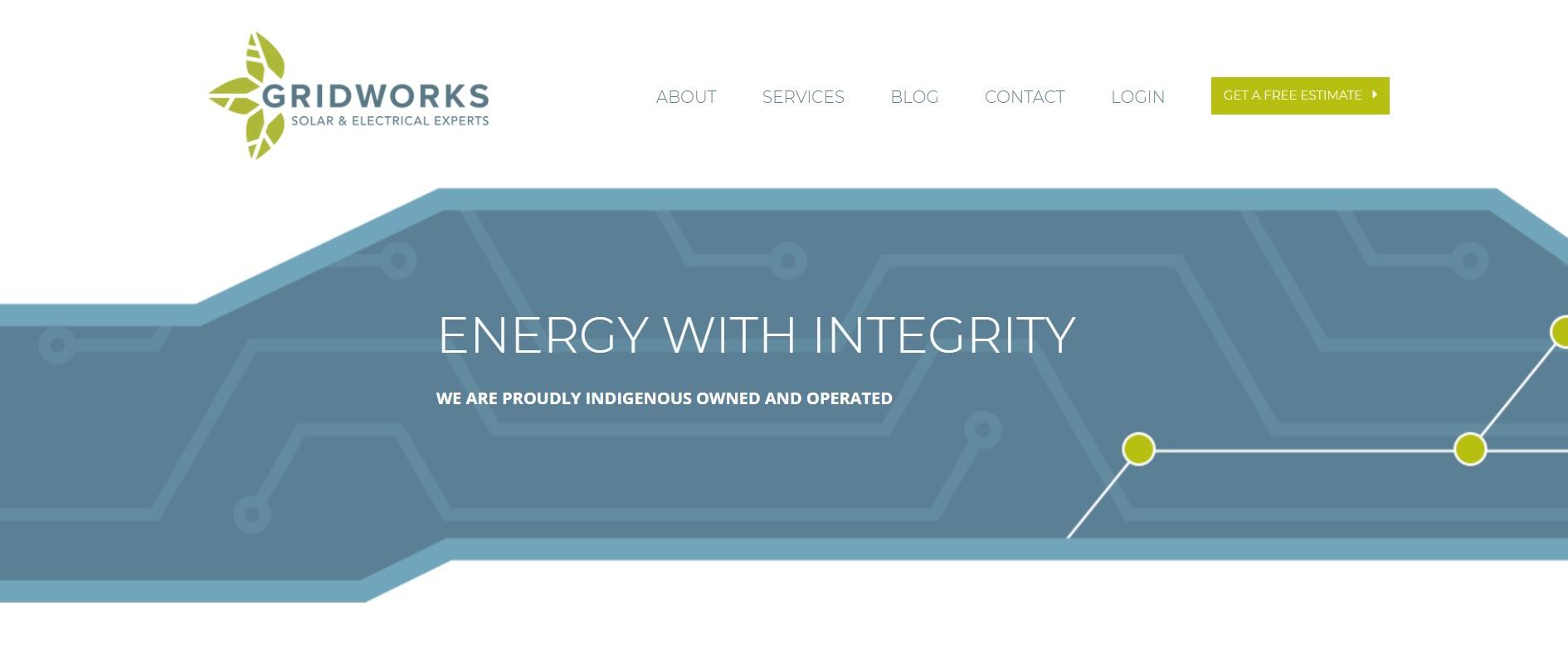 gridworks solar energy contractor in edmonton