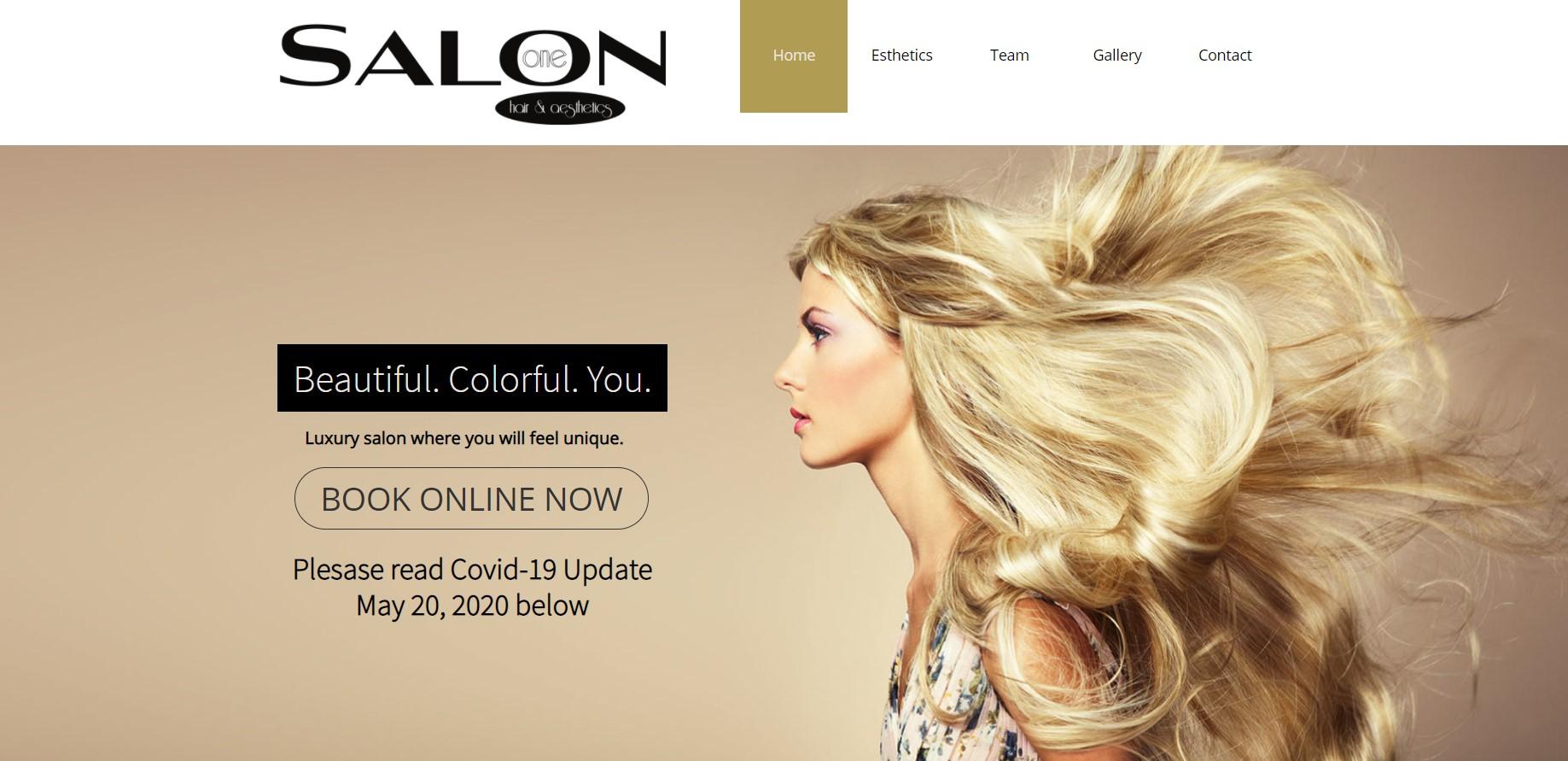 salon one hairdresser in calgary