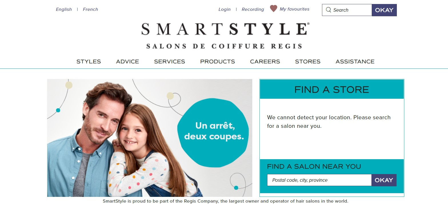 smartstyle beauty salon in quebec