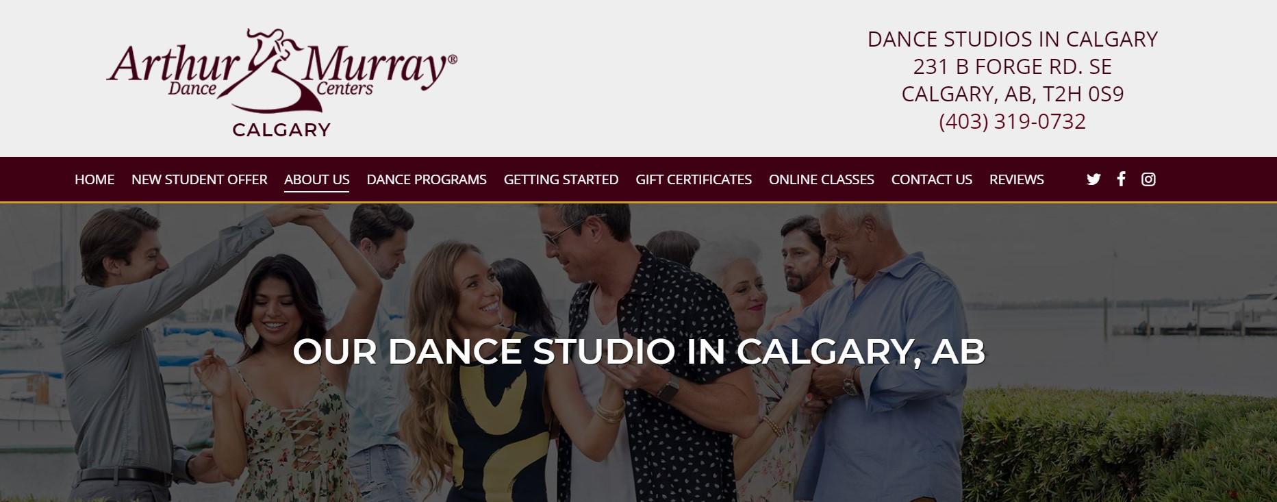 arthur murray dance instructor in calgary