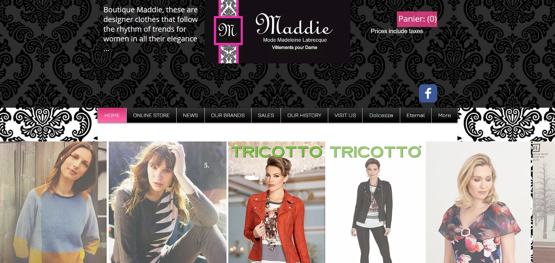 boutique maddie women's clothing store in quebec