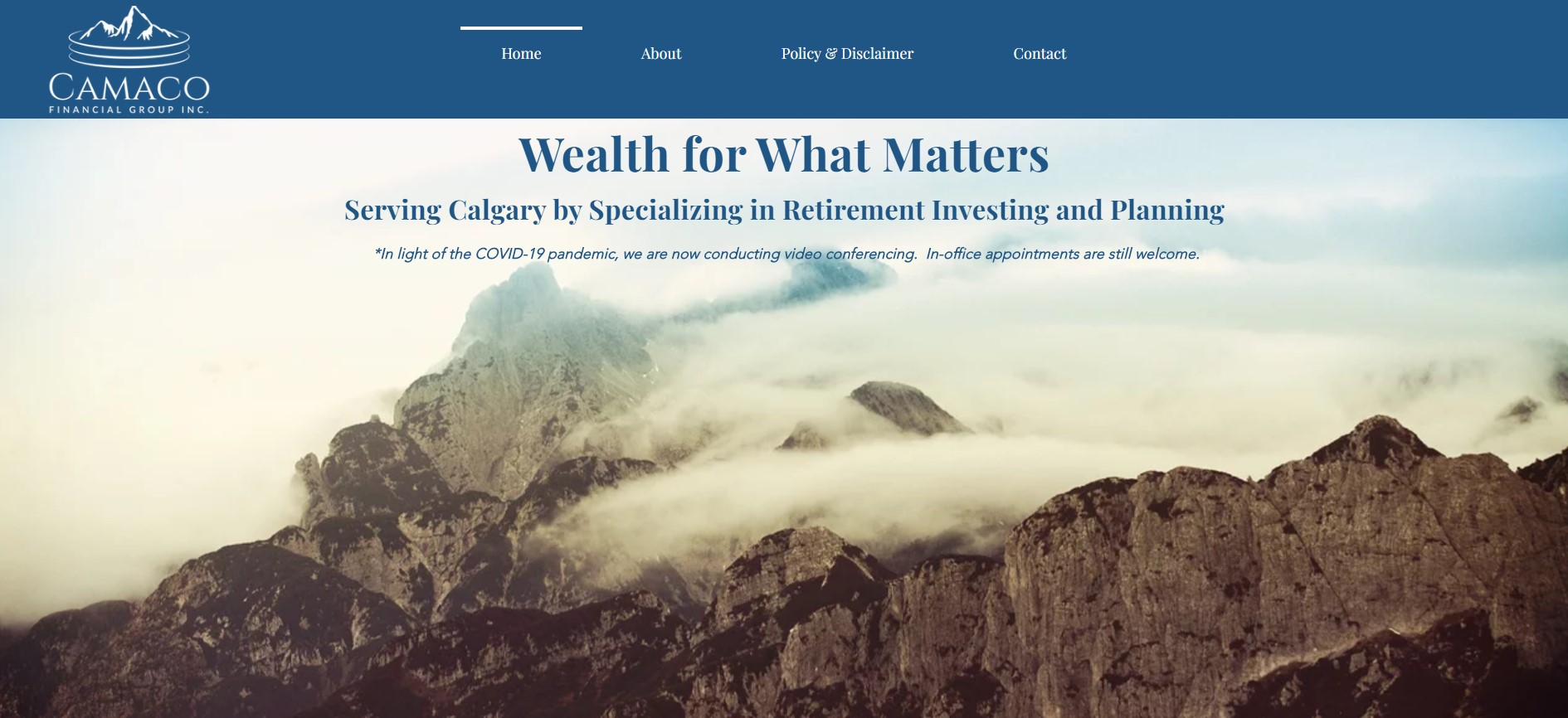 camaco financial service in calgary