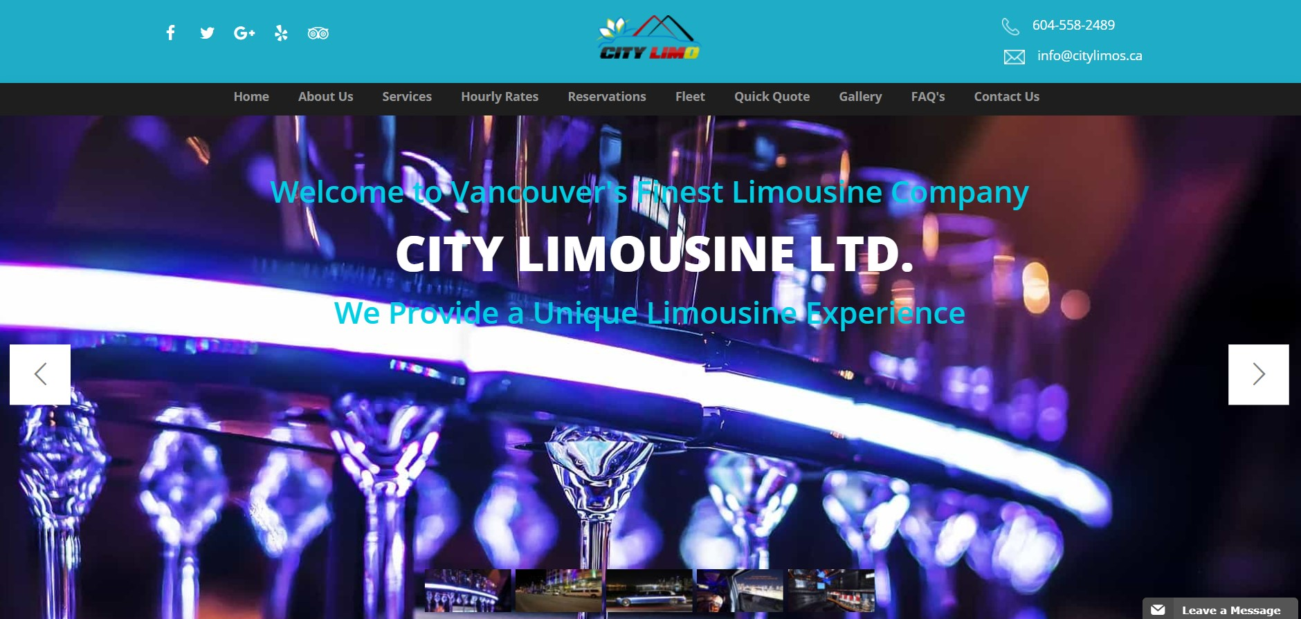 city limo hire in vancouver