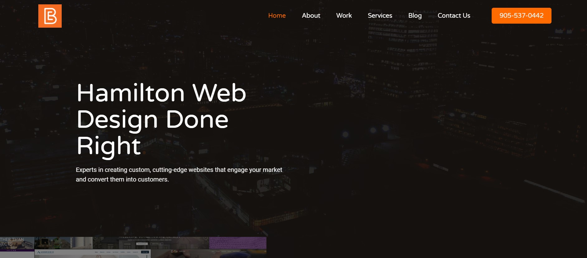 eb media web developer in hamilton