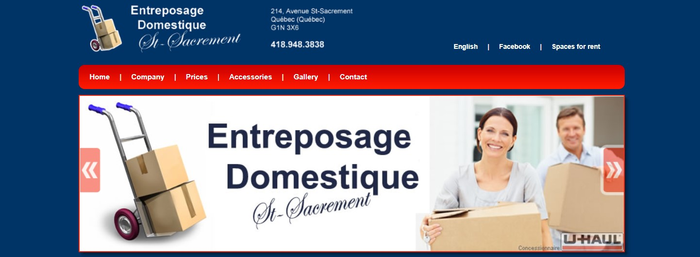entreposage domestique self storage facility in quebec