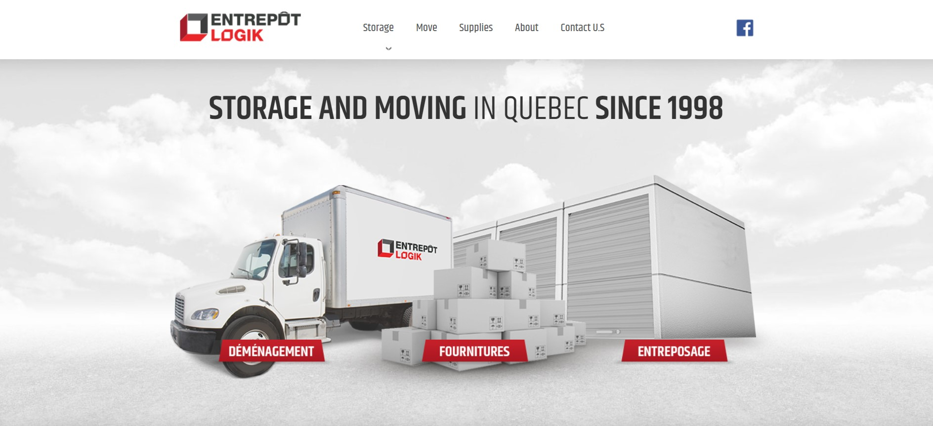entrepot logik self storage facility in quebec