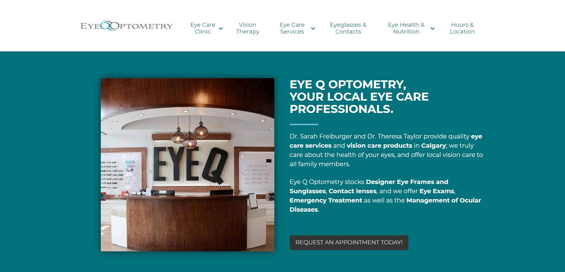 eye q optometrists in calgary