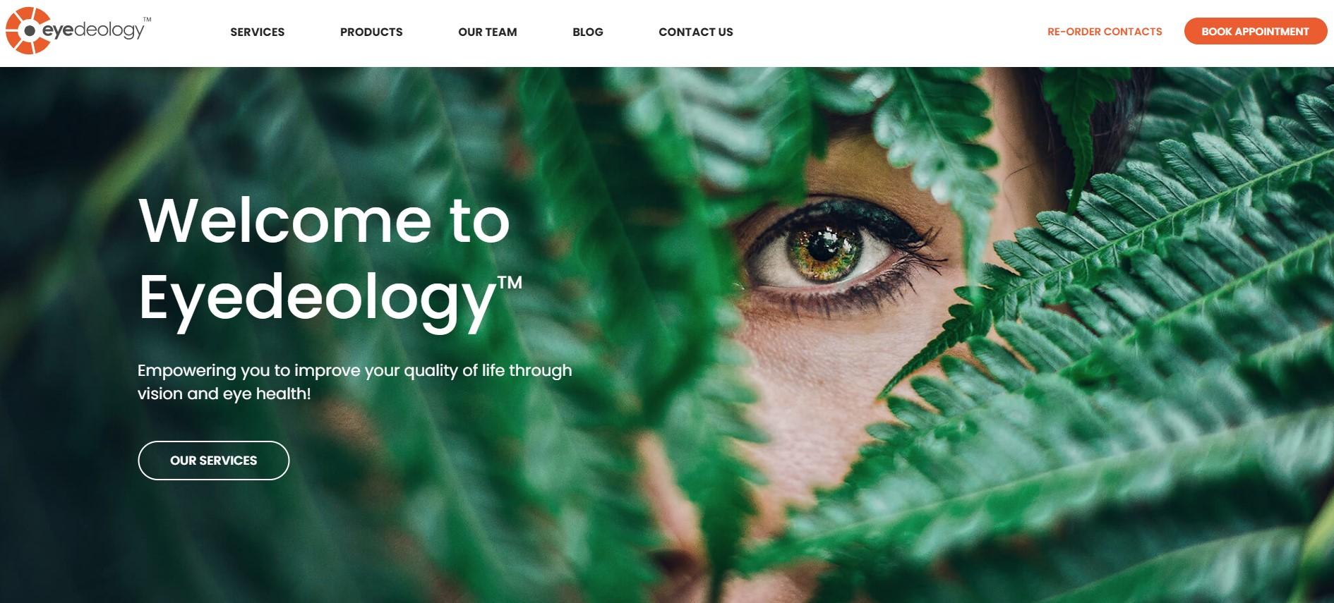 eyedeology optometrist in calgary