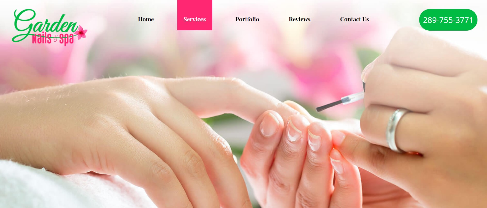 garden nails spa nail salon in hamilton