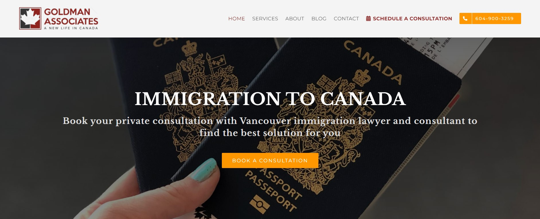 goldman associates immigration attorney in vancouver