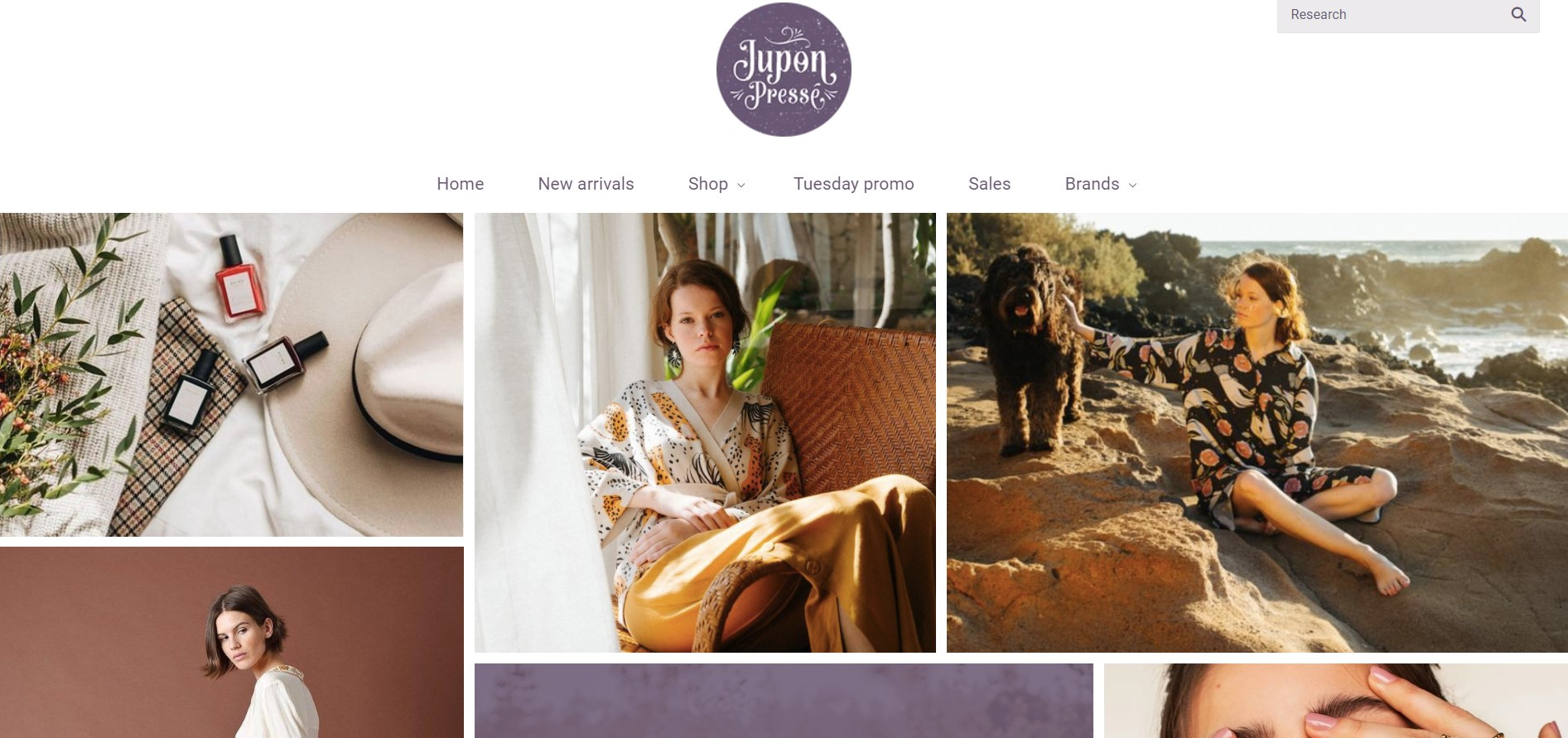 jupon presse women's clothing store in quebec