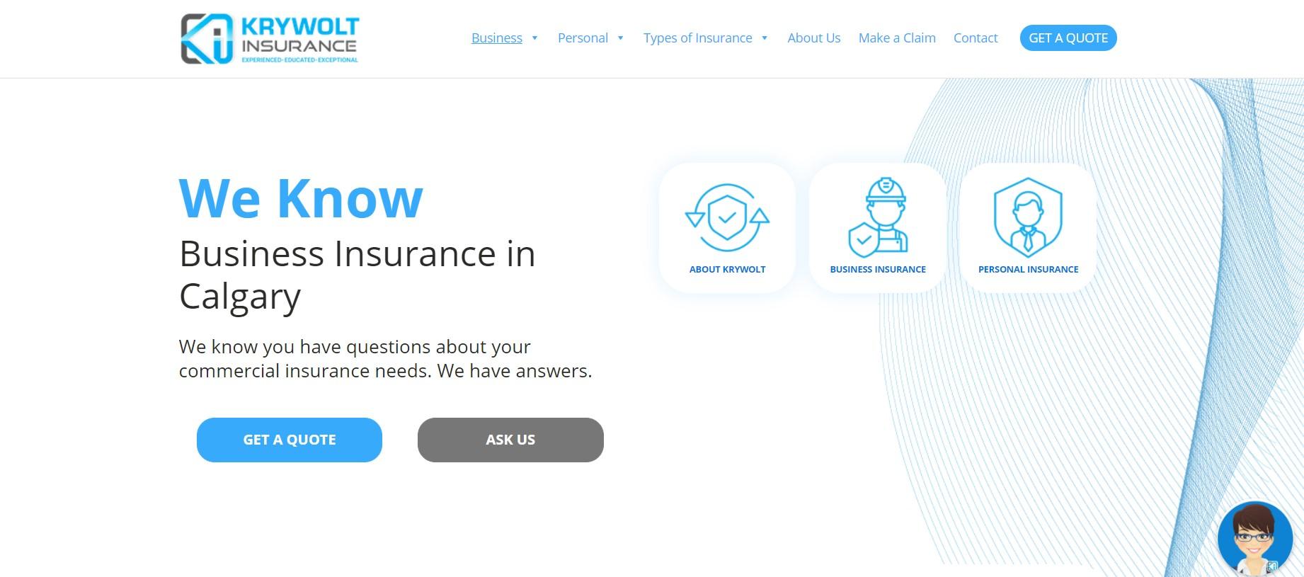 krywolt insurance broker in calgary