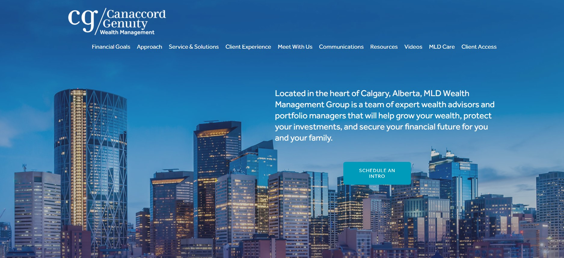 mld wealth management financial service in calgary