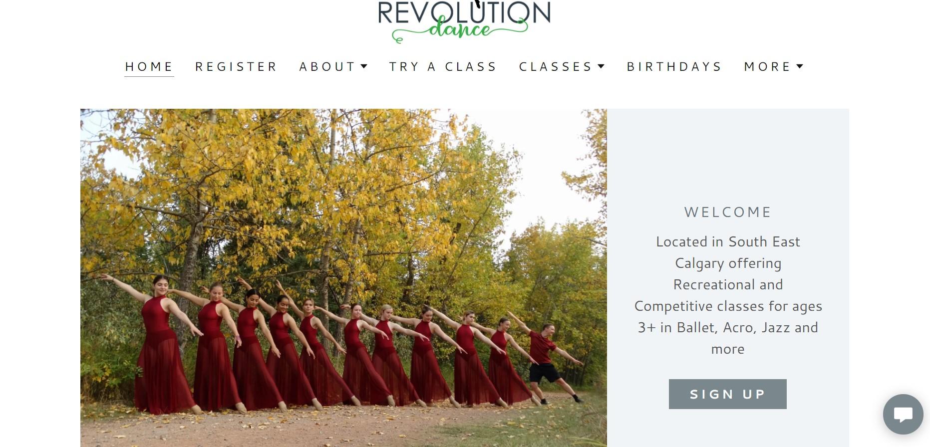 revolution dance instructor in calgary