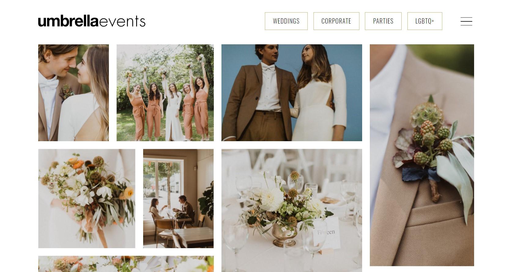 umbrella events wedding planner in vancouver