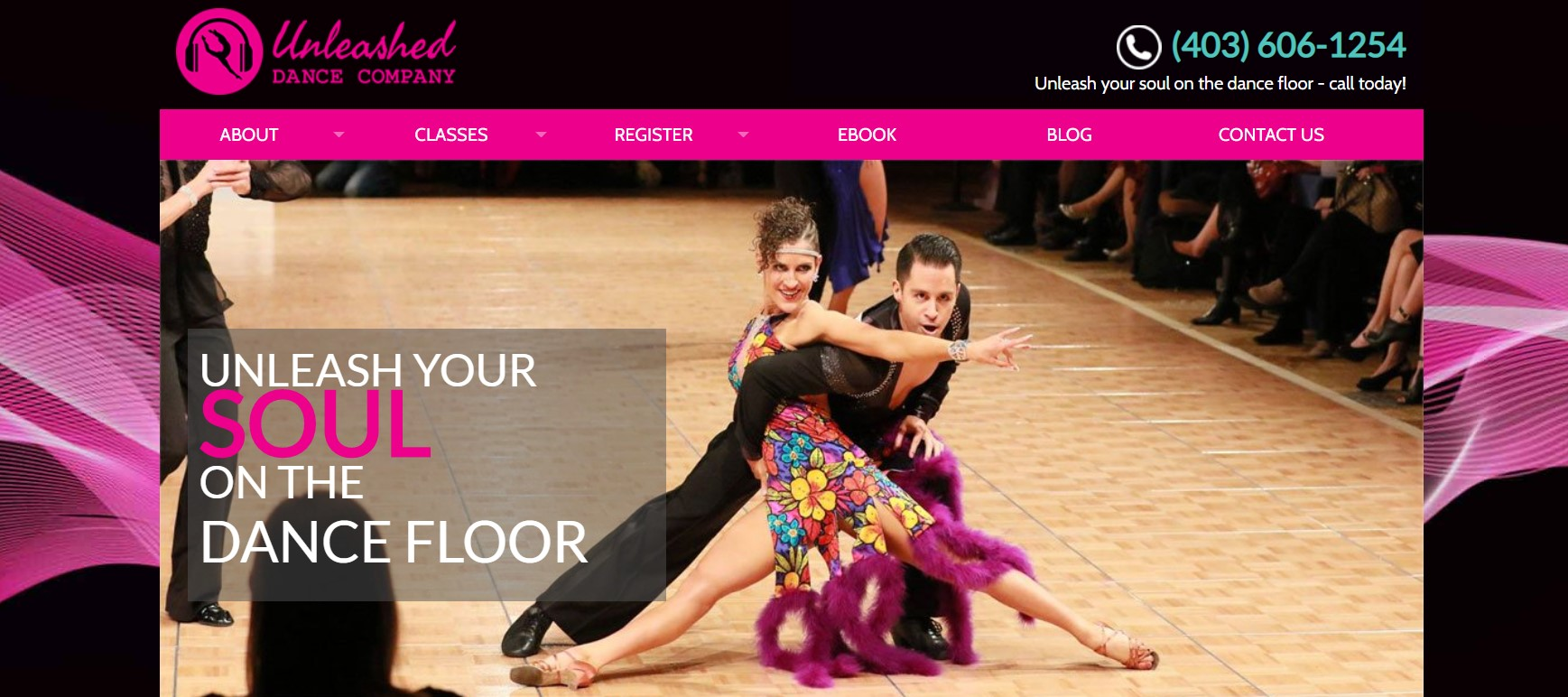 unleashed dance company dance instructor in calgary