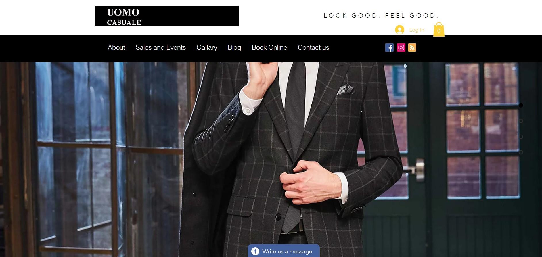 uomo casuale formal wear store in winnipeg
