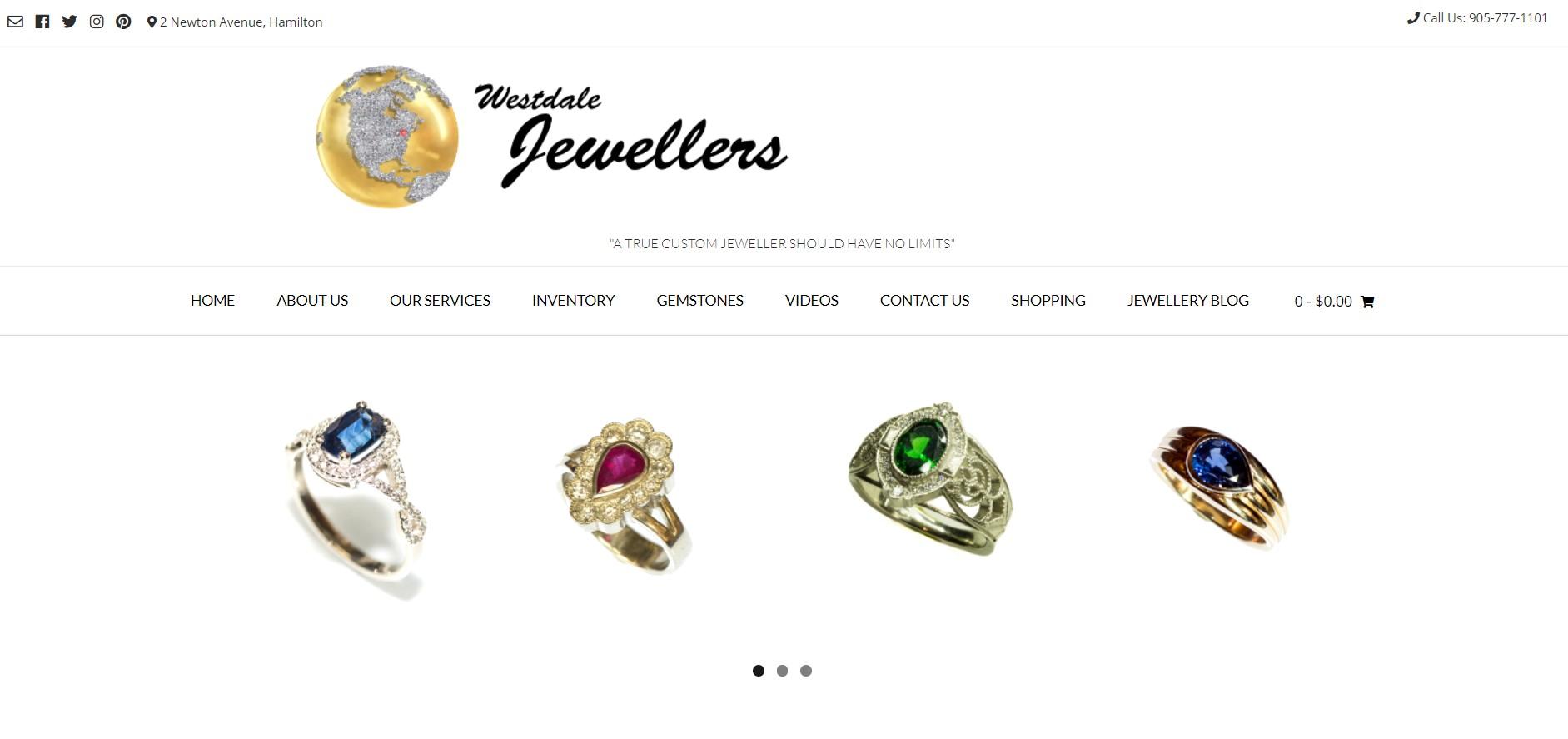 westdale jewelry store in hamilton