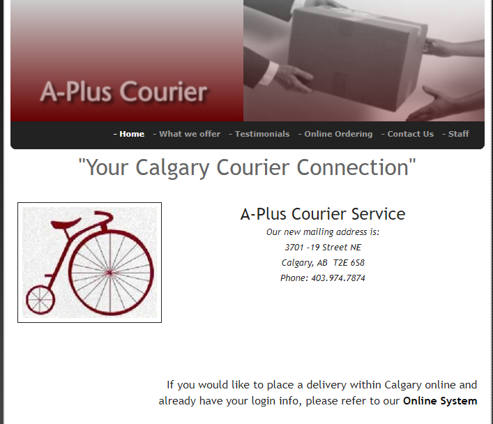 ​A-Plus Courier Service Ltd.