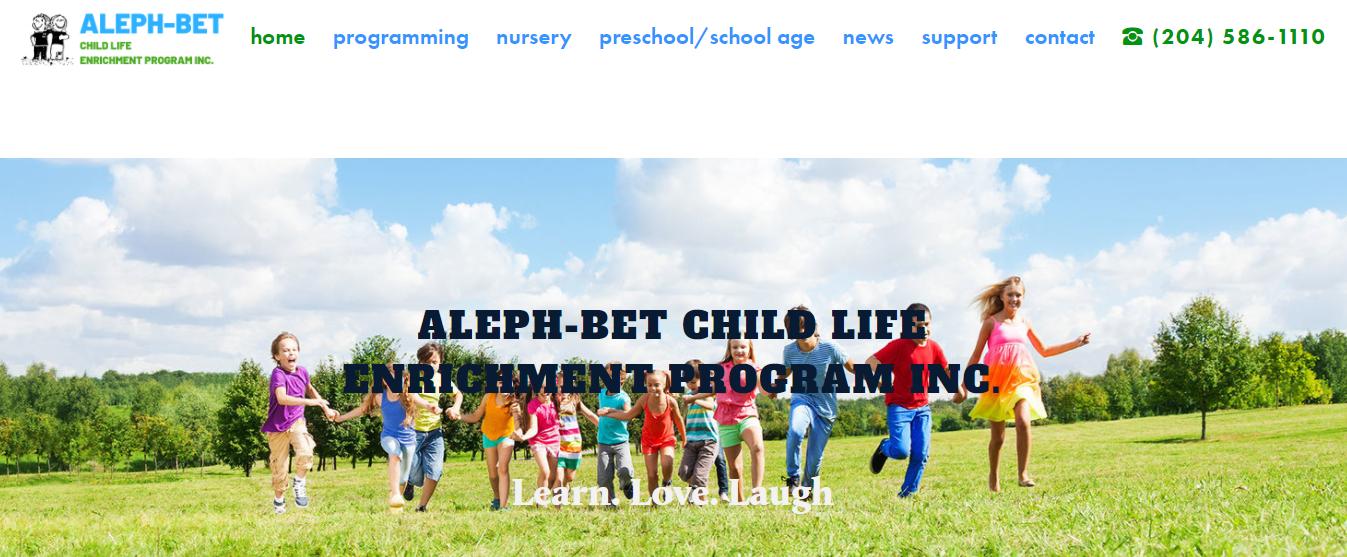 Aleph-Bet Child Life Enrichment Program Inc