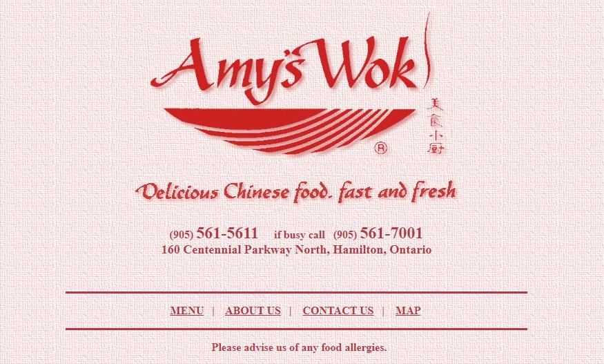 Amy's Wok