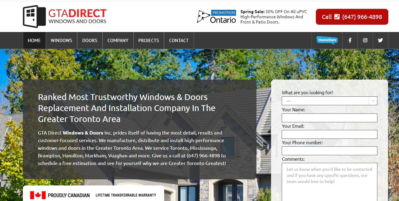 GTA Direct Windows & Doors