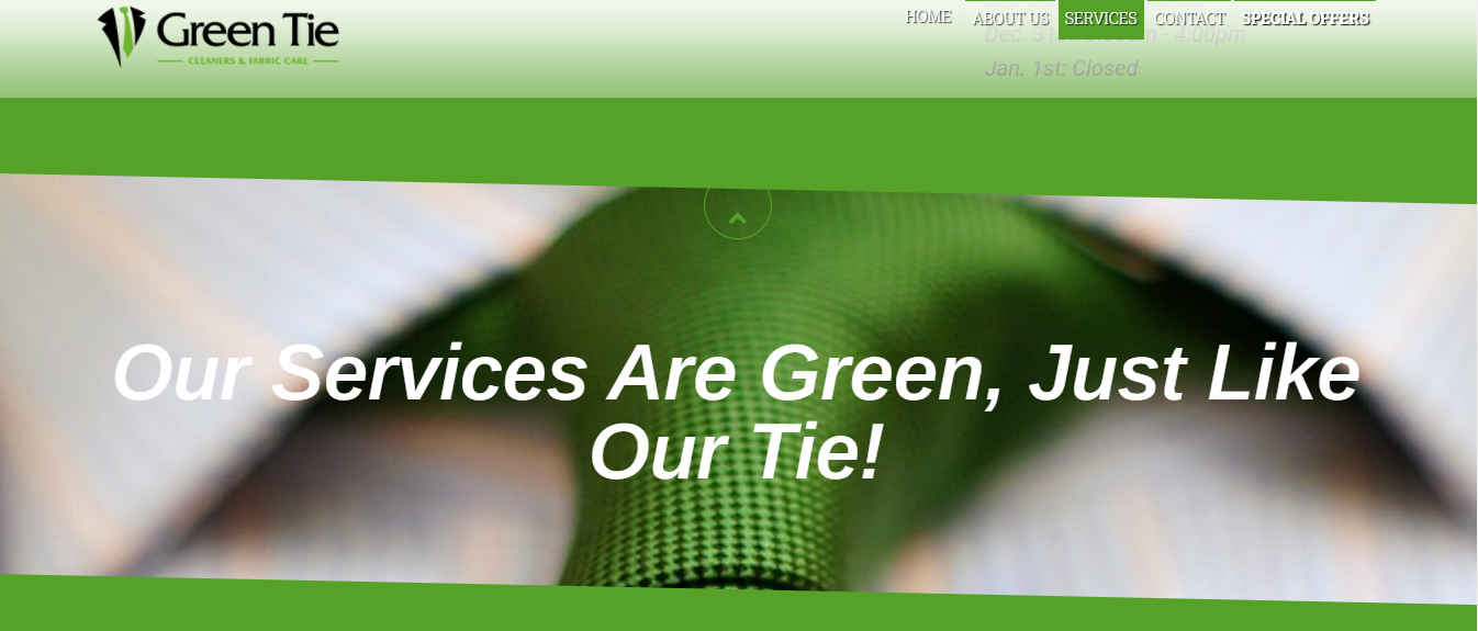 Green Tie Cleaners - Dry Cleaners Ancaster