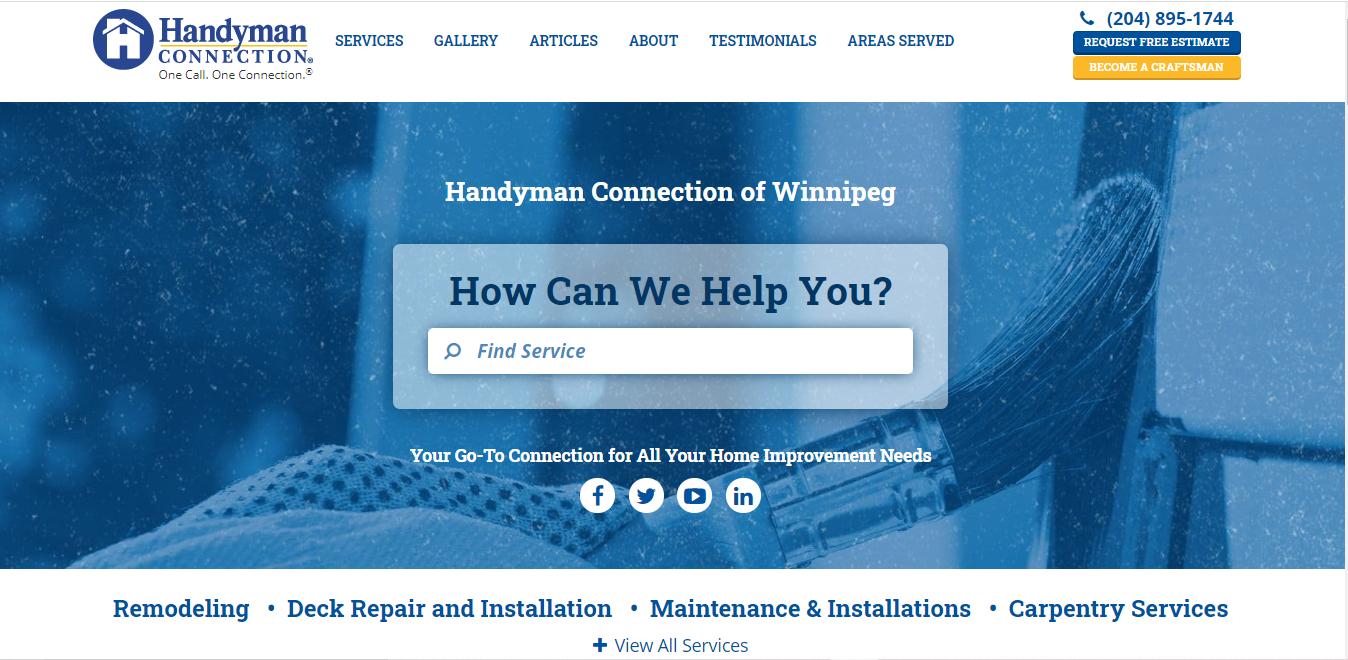 Handyman Connection Winnipeg