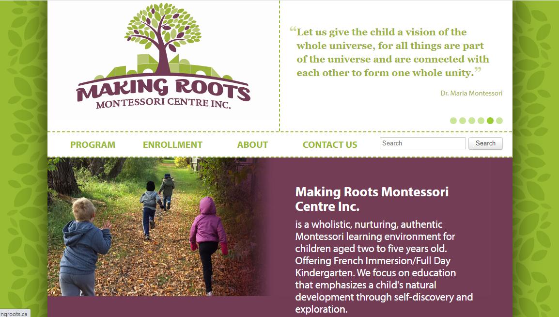 Making Roots Montessori Centre Inc.
