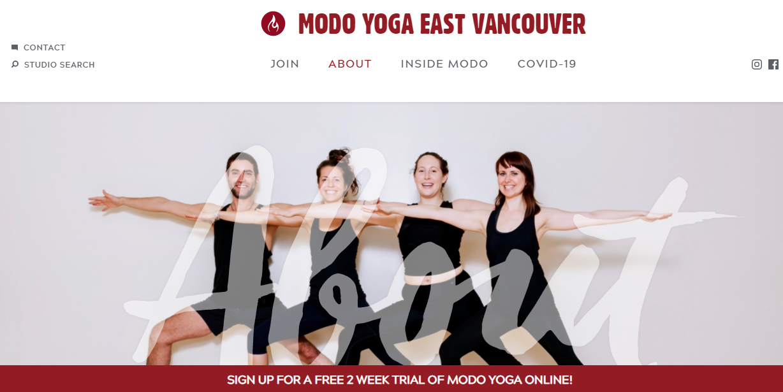 Modo Yoga East Vancouver