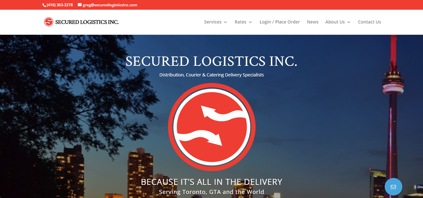 Secured Courier Ltd Toronto