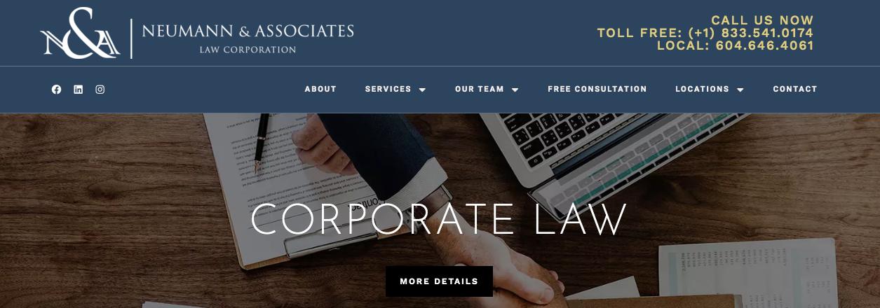 best corporate lawayers in vancouver
