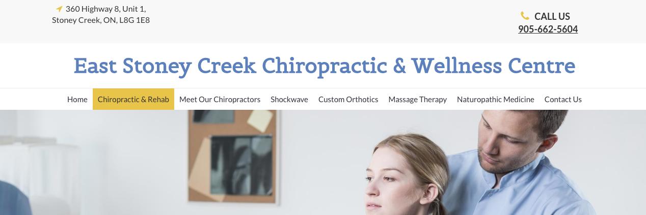 chiropractors in hamilton canada