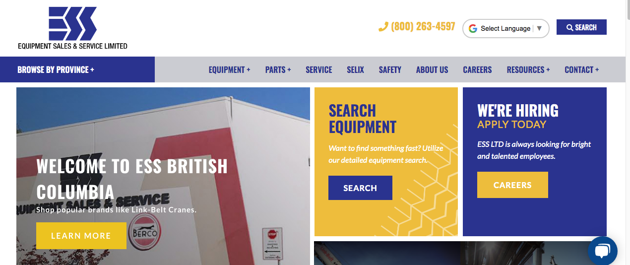 construction vehicle dealers in vancouver