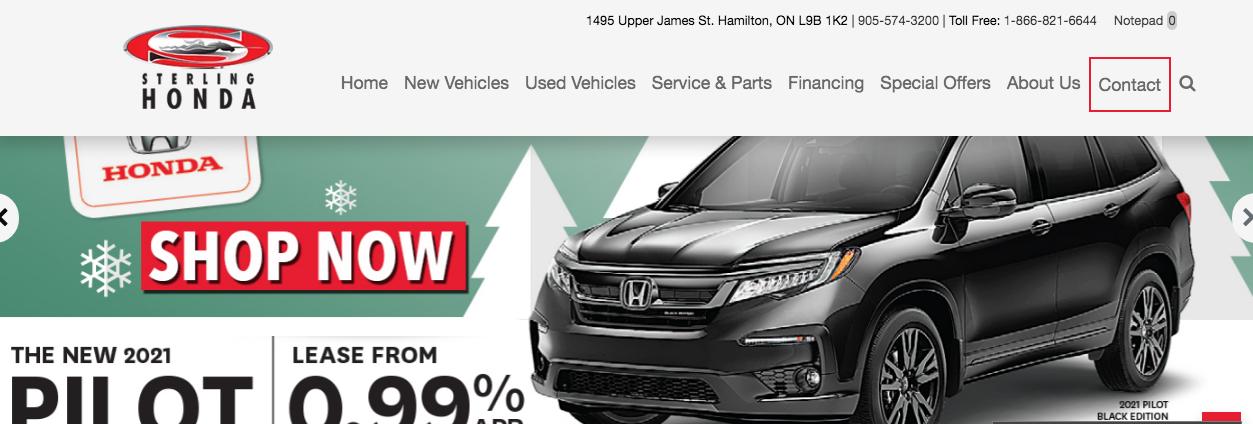 honda car dealers in hamilton