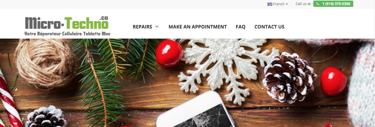phone repair montreal