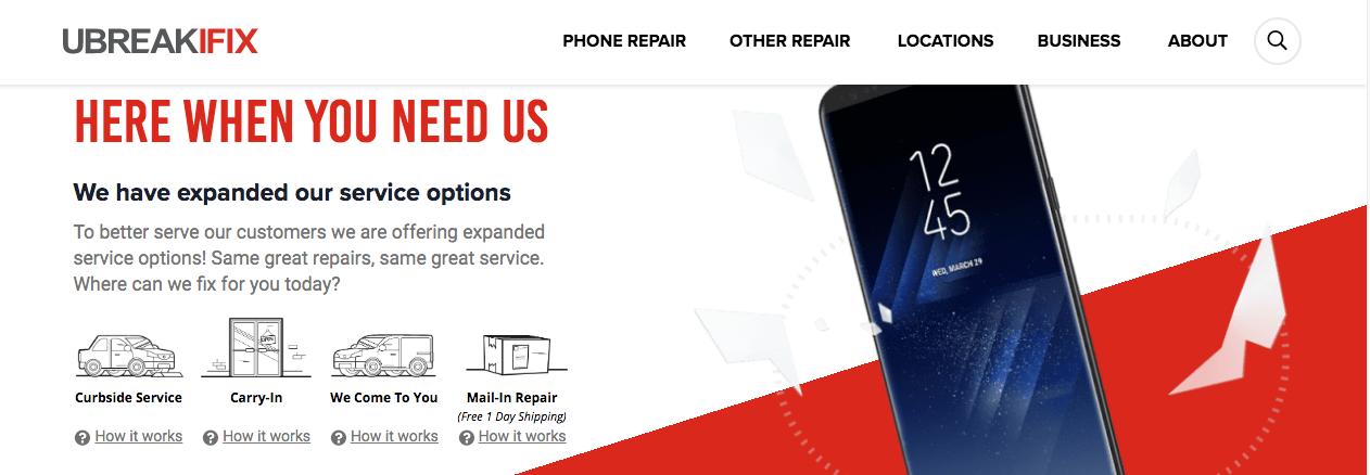 phone repairs montreal