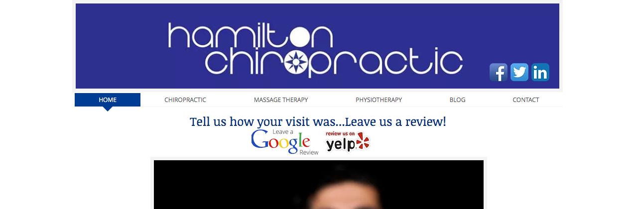 top chiropractors hamilton canada