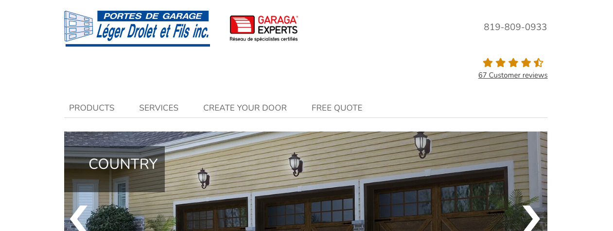top garage door repair services quebec