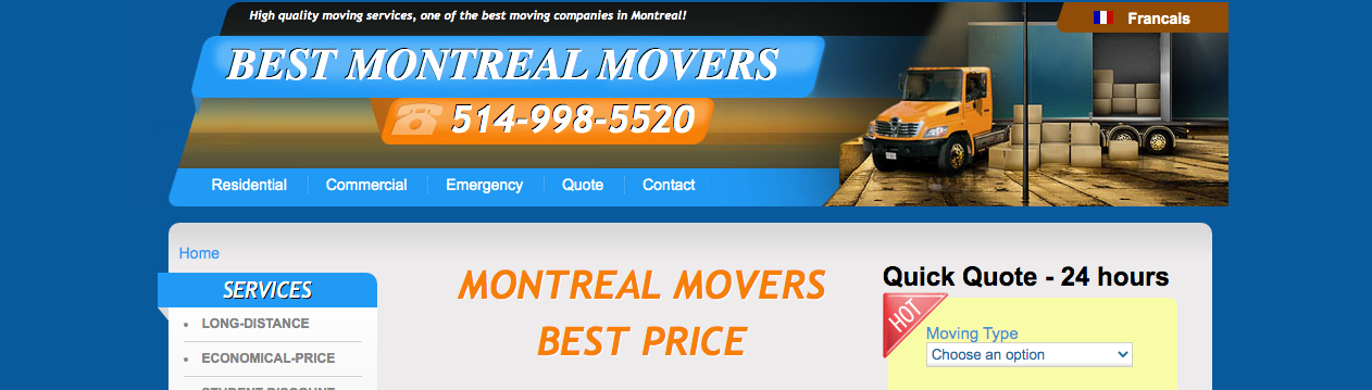 top removalists in quebec